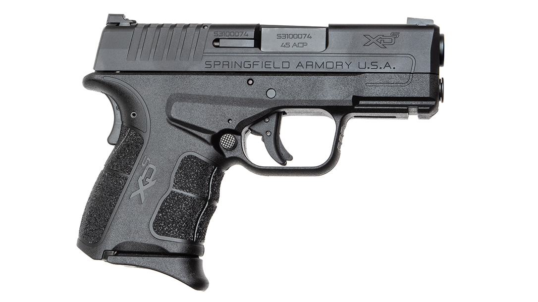 The Springfield XD-2 Mod.2 sported great ergonomics and a low bore axis.