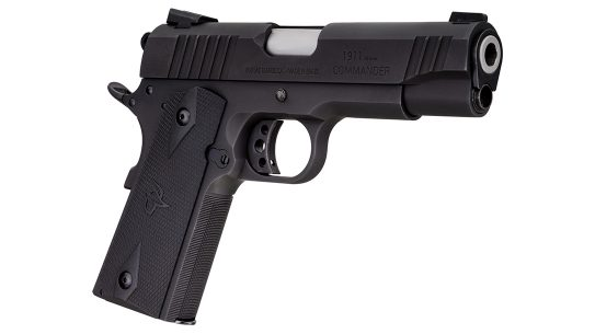 Taurus adds 9mm chambering to 1911 Commander series.