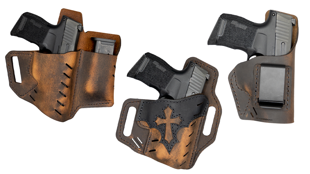 Versacarry SIG P365 holster options fit most any style of carry.