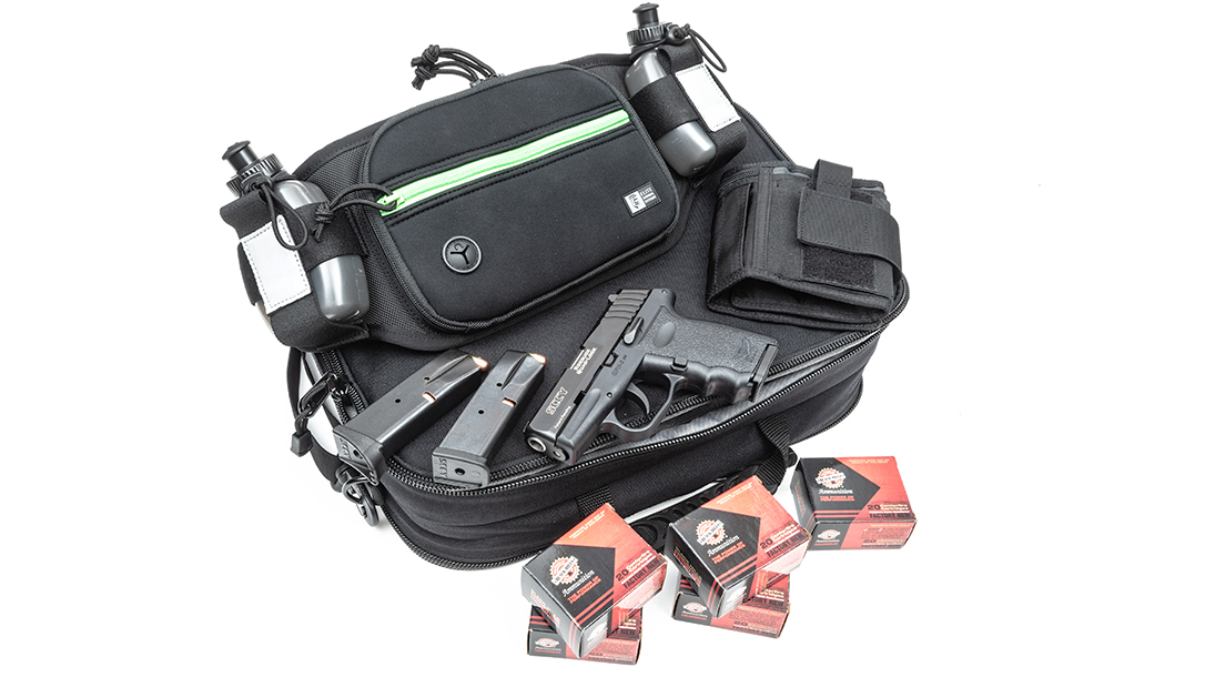 SCCY CPX-3 pistol, black hills ammo, fully loaded