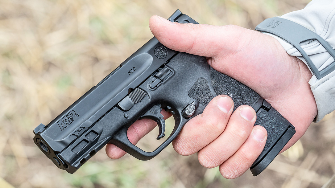 Smith & Wesson M&P M2.0 Subcompact pistol, lead