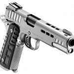 The updated Black Ice 1911 features lightening cuts in the slide.