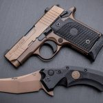 Pair a Hogue SIG knife to a SIG Sauer pistol for a truly unique EDC pairing.