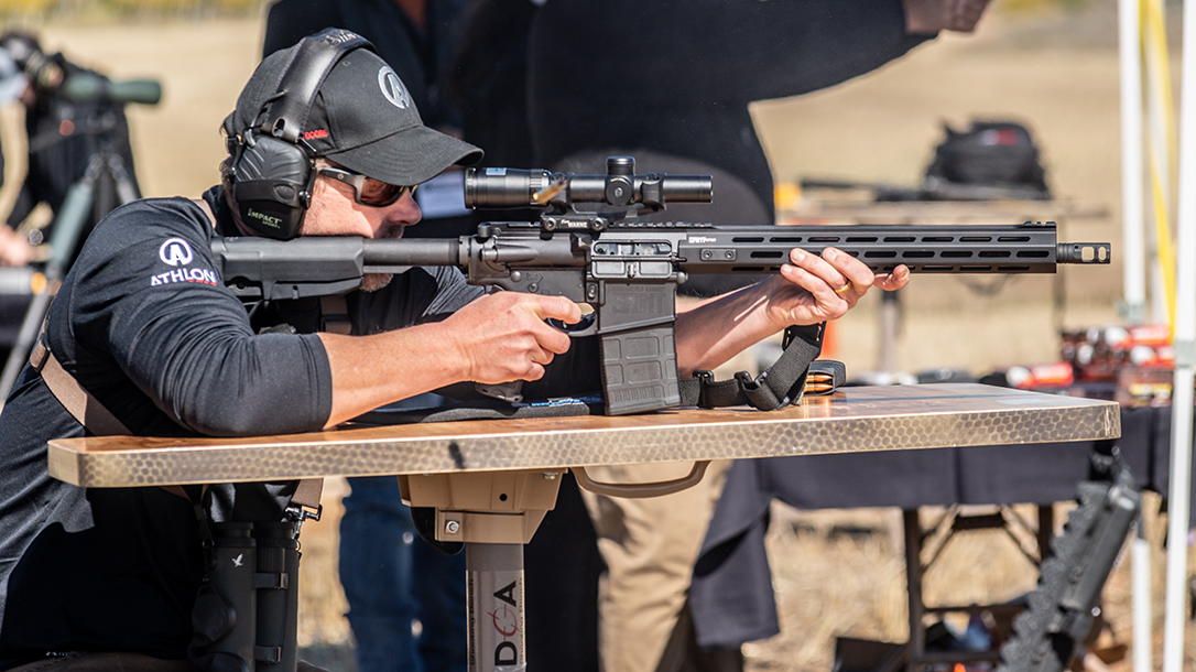 In accuracy testing, the Springfield AR-10 excelled out to long-range steel.
