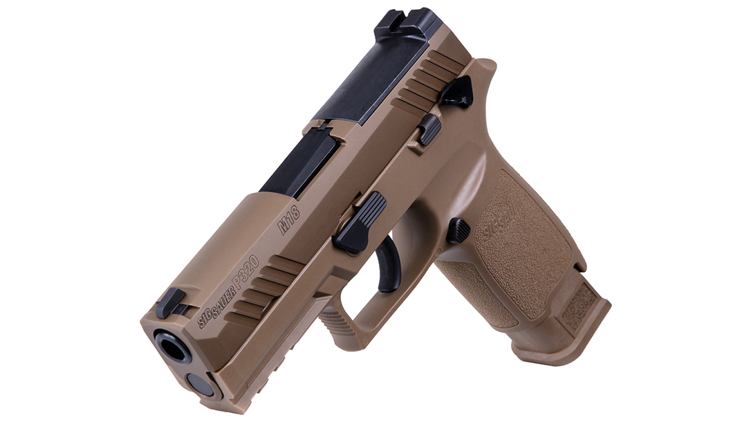 The P320-M18 is the civilian version of the military M18.