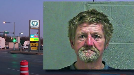 An armed civilian saved two women from a knife attack in Oklahoma.