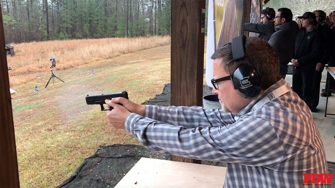 The Glock G44 takes the G19 and scales it down to .22 LR.