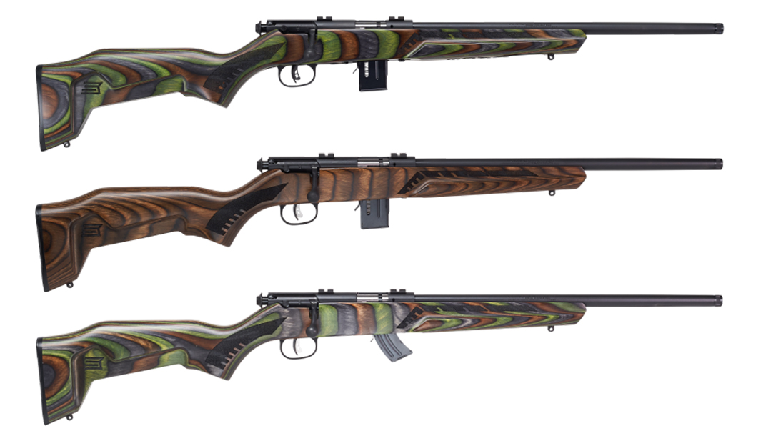 The Savage Minimalist features styling not common on classic rimfires.