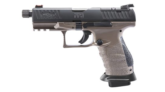 The Walther Arms Q4 Tac Pro comes with several upgraded components and features that add to its versatility.