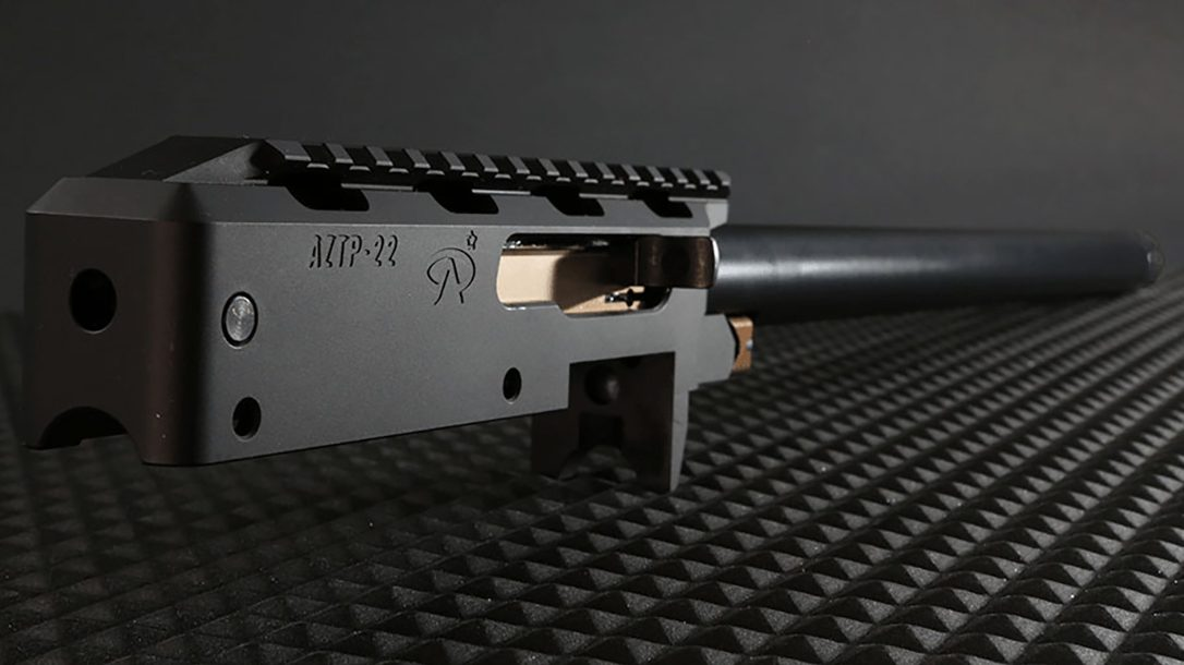 The AZTP-22 Precision Line builds on the popular Ruger 10/22 platform.