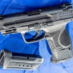The Smith & Wesson M&P 9 Shield EZ pistol comes both with or without an external safety.