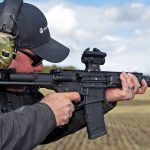 With a 7-inch barrel, the DDM4 PDW is extremely fast on target.