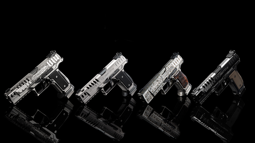 The Walther Meister Manufaktur program brings exclusive, hand-engraved pistols featuring new coatings and finishes, delivering astonishing packages.