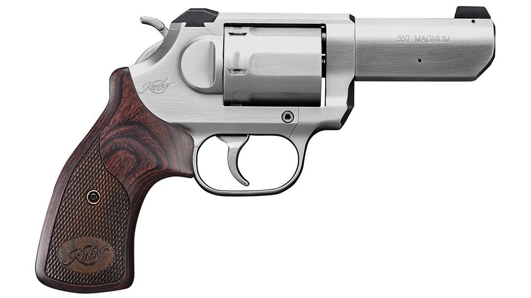 Available with either a 2- or 3-inch barrel, the revolver carries well.