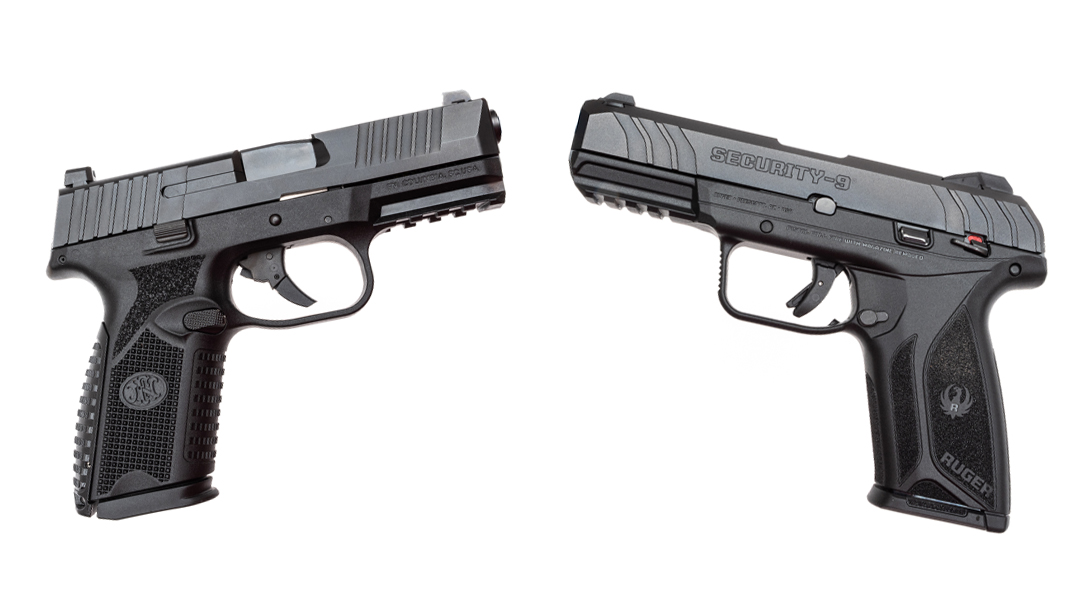 The author tested the Ruger Security 9 against the FN 509 Midsize.