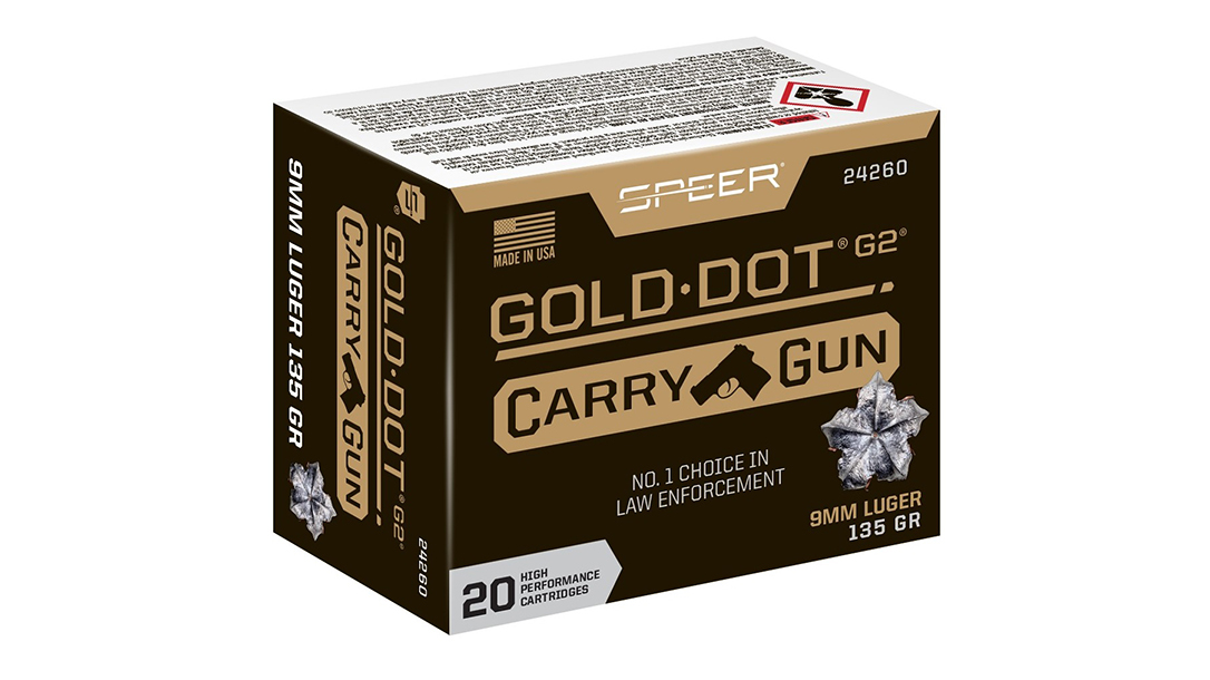 Gold Dot Carry Gun was designed to perform in carry guns.