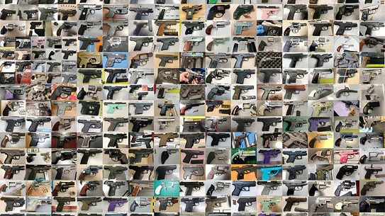 Air travelers set a new record for TSA firearms confiscations in 2019.