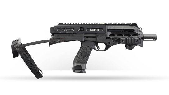 The new Chiappa CBR-9 features a telescoping brace to become like a PDW.
