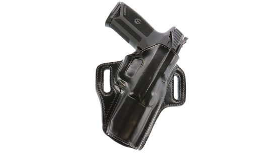 The highly concealable pancake-style Concealable Holster now fits the Ruger-57.