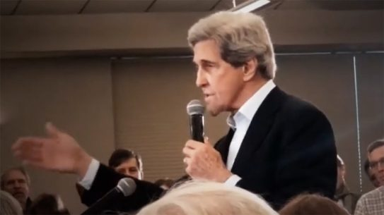 John Kerry said no one needs an AR-16 or long clip while campaigning for Joe Biden.