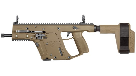 KRISS Vector .22 LR, The Kriss Vector rimfire serves as a faithful trainer or fun plinker.