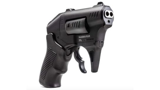 The Standard Manufacturing S333 fires two rounds of .22 WMR with every pull of the trigger.