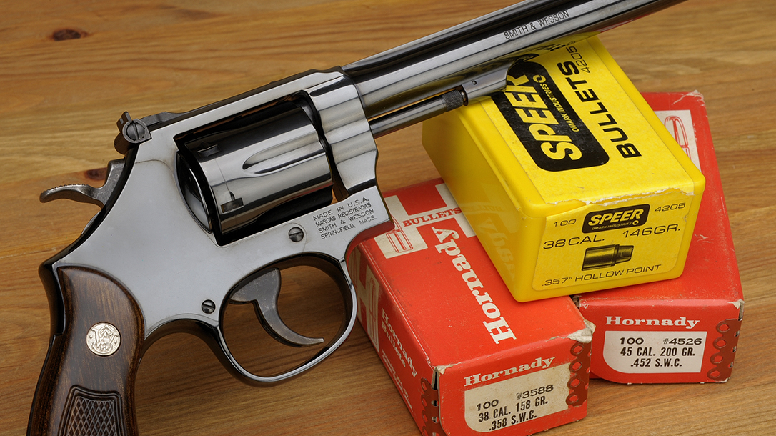 A revolver and a wadcutter bullet can form a formidable package.