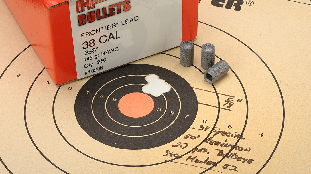 When done right, the flat-nosed bullets provide exceptional accuracy.
