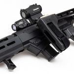 With a folding SB Tactical brace and takedown feature, the PC Charger is compact.