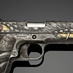 The Dragon Fire delivers a look seldom found in gunmaking.