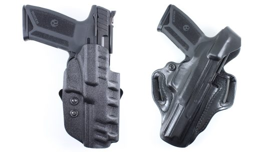 Renewed momentum for the 5.7x28mm cartridge continues as DeSantis releases 8 new Ruger 57 holster fits, giving even more choices for concealed carry.