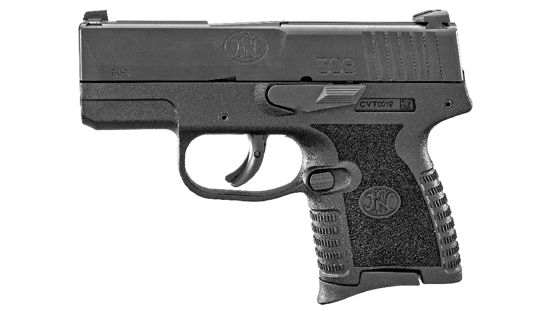 With a slide width of a mere 0.9-inch, the new pistol should carry well.