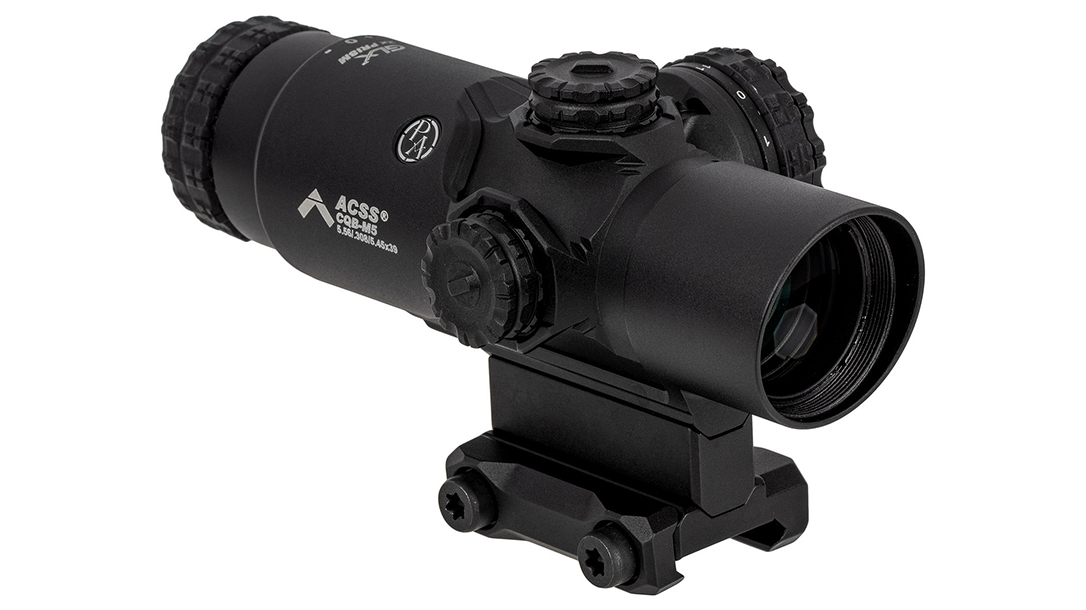 With reticles calibrated for specific calibers, the GLx 2X Prism excels on carbines.