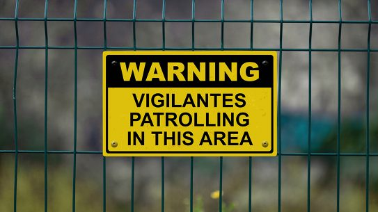 Armed Vigilantes coronavirus, Maine vigilantes