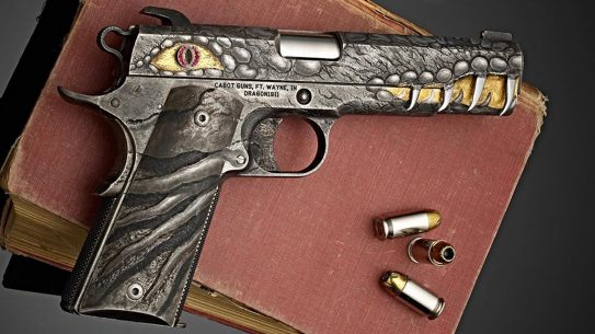 Cabot Dragon Fire Pistol, Cabot Dragon pistol