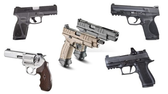 Coronavirus stimulus check, Check out these five handguns to spend your stimulus check on.