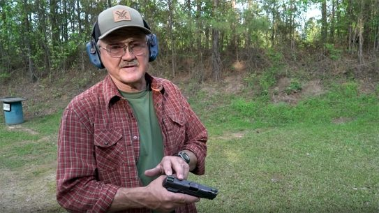 Jerry Miculek breaks down his preferred concealed carry draw technique.