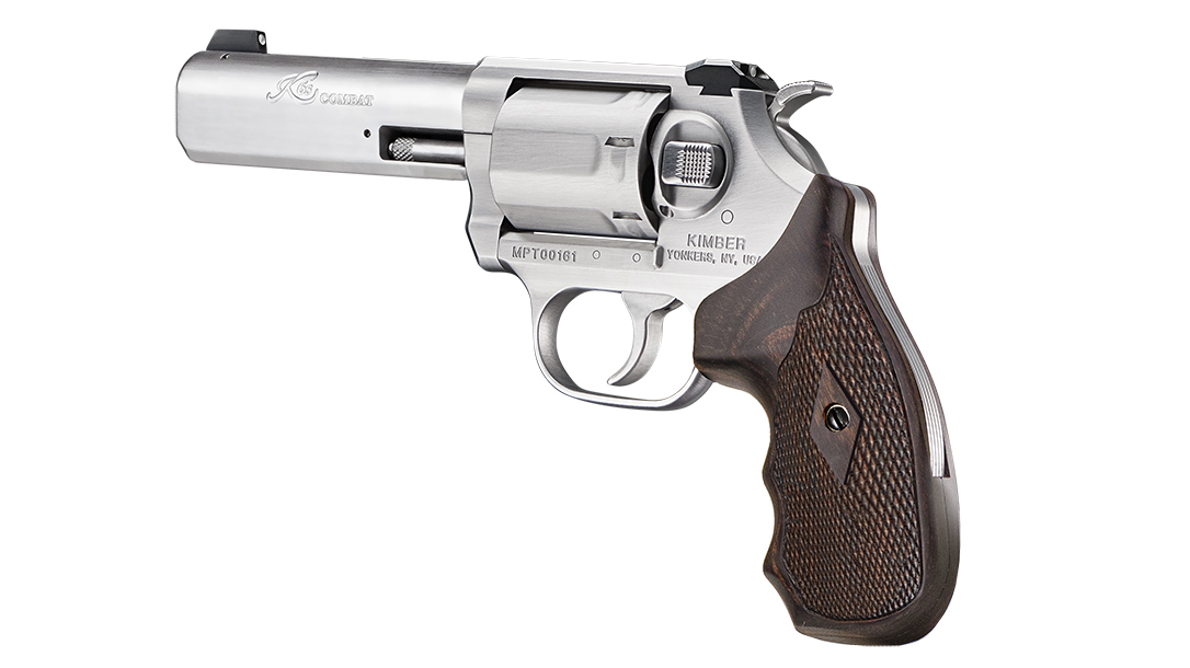 Chambered in .357 Magnum, the six-shot Combat version packs plenty of punch.