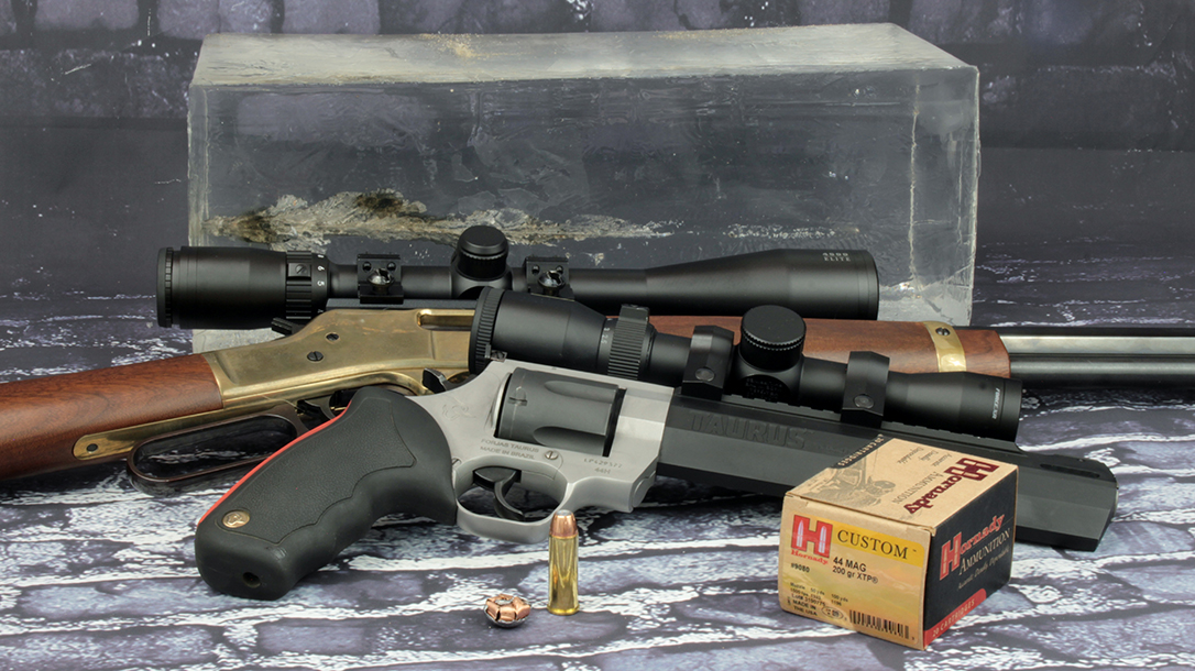The 44 Rem Mag proved highly capable for defense during testing.