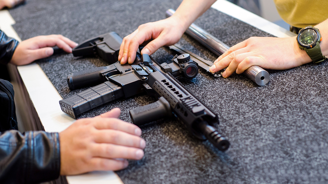 Crime Down Coronavirus, gun sales up, texas private Firearms sales