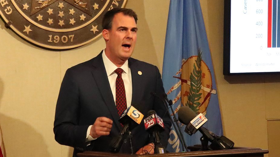 Oklahoma Governor Kevin Stitt signed into law a ban on red flag laws in Oklahoma.