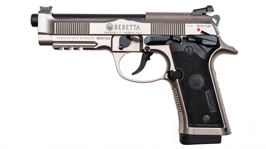 The Beretta 92X Performance is a seriously worked over modern variant of the famous pistol.