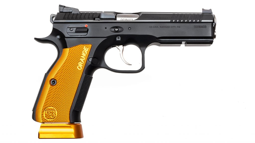 The CZ Shadow 2 Orange retains the influence of the famous CZ 75.