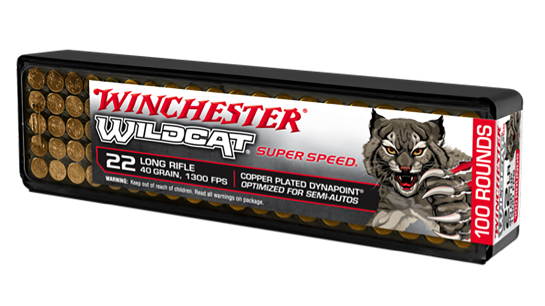 The new Winchester Wildcat Super Speed is optimized for semi-auto rifles.