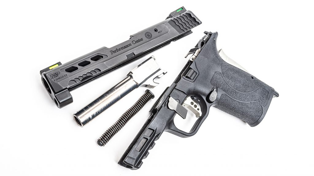 The flat face trigger and other upgrades make carry and shooting the pistol better than ever.
