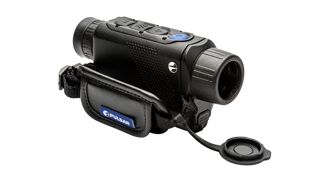 The lightweight, handheld Pulsar Axiom XM30S thermal monocular helps you own the night.