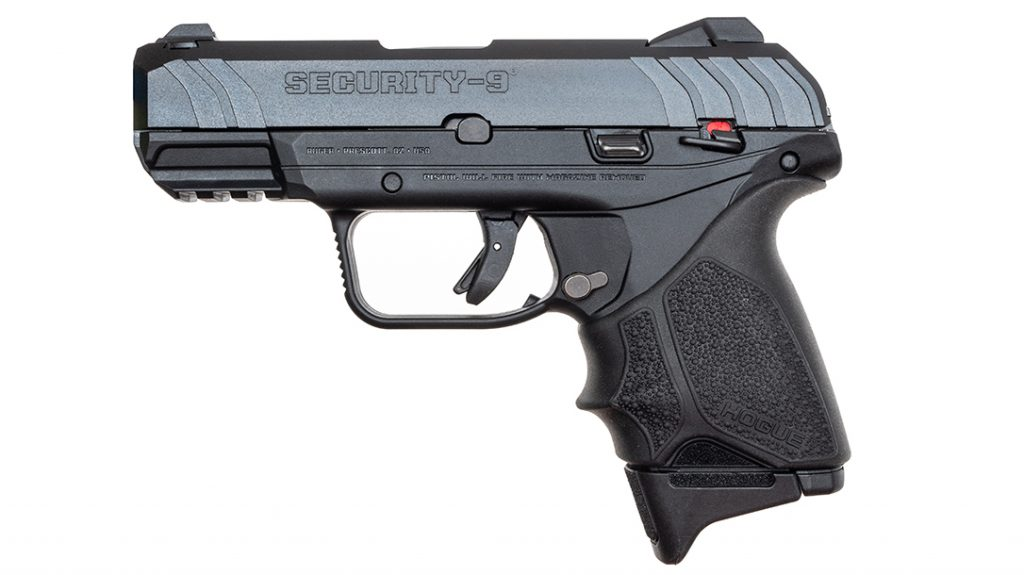 Pistols Under $ 500, Best Handguns Under $ 500, The Ruger Security-9 emprega a tecnologia Secure Action da empresa.