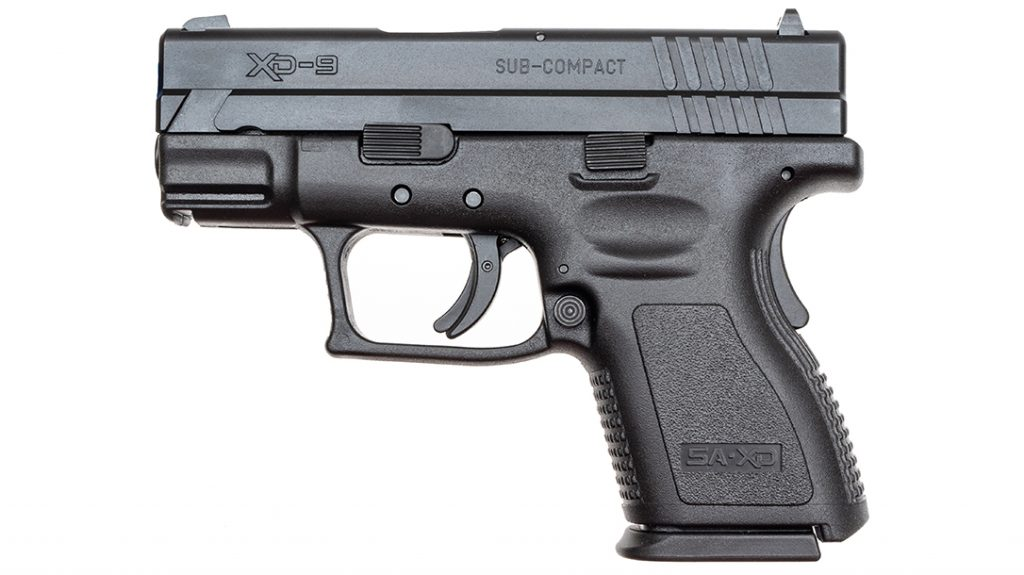 "The Springfield XD 3"" Sub-Compact proved to be the most affordable of the group."