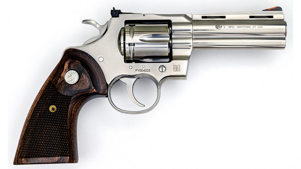 The new Colt Python 357 features less parts, making it even more reliable than the original.