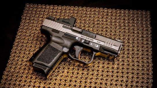 The Canik TP9 Elite SC was named the ICA Concealed Carry Pistol of the Year.